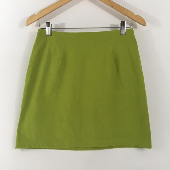 75976014b2 born in america Skirts | Vintage 90s Spice Girl Lime Green Mini ...